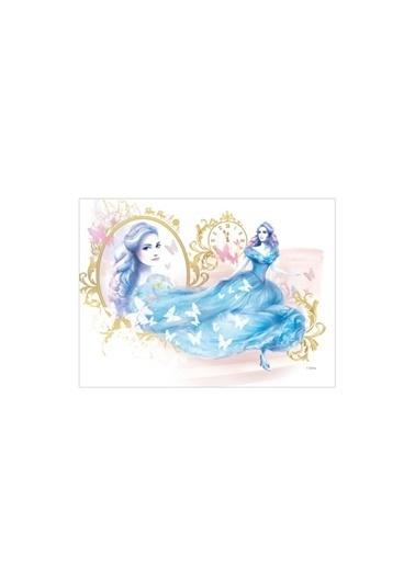 Disney Cindrella-1 50x70 cm Kanvas Tablo Renkli